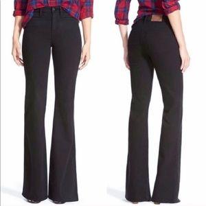 • Madewell • Flea Market Flare Jeans Rollins Black